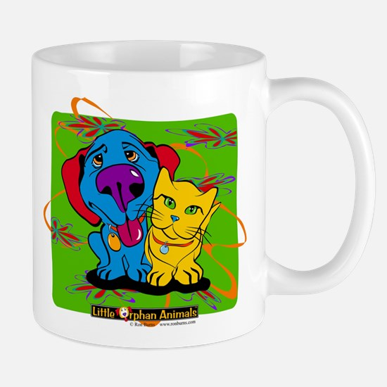 Cute Blue cat Mug