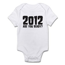 2012 Are You Ready? Infant Bodysuit