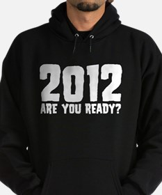 2012 Are You Ready? Hoodie (dark)
