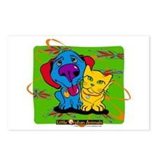 Cute Little cat Postcards (Package of 8)