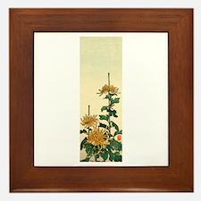 Cute Woodblock Framed Tile