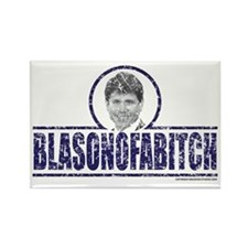 Funny Illinois governor Rectangle Magnet