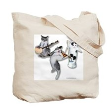 Bluegrass Kitties Tote Bag