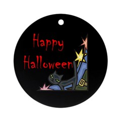 Halloween Ornament (Round)