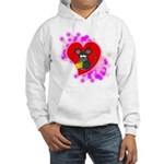 3D Mousey Valentine Hooded Sweatshirt