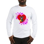 3D Mousey Valentine Long Sleeve T-Shirt