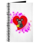 3D Mousey Valentine Journal