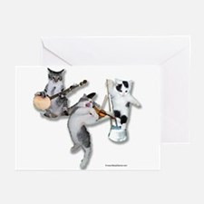 Kitten Stringband Greeting Cards (Pk of 10)