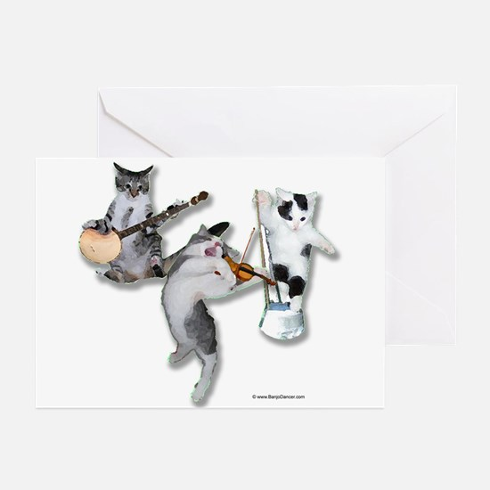 Kitten Stringband Greeting Cards (Pk of 10)