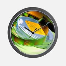 Film Can Wall Clock