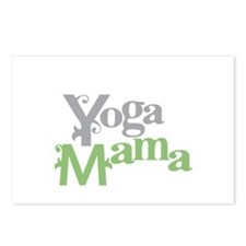 Yoga Mama Postcards (Package of 8)