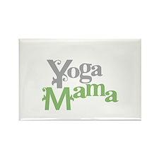 Yoga Mama Rectangle Magnet