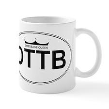 OTTB Dressage Queen Mug