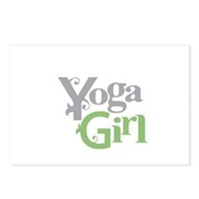 Yoga Girl Postcards (Package of 8)