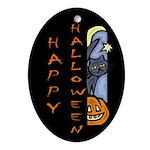 Halloween Oval Ornament