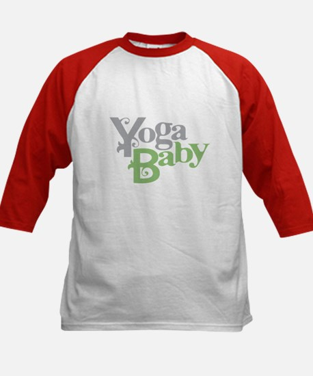 Yoga Baby Kids Baseball Jersey