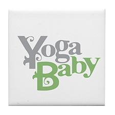 Yoga Baby Tile Coaster