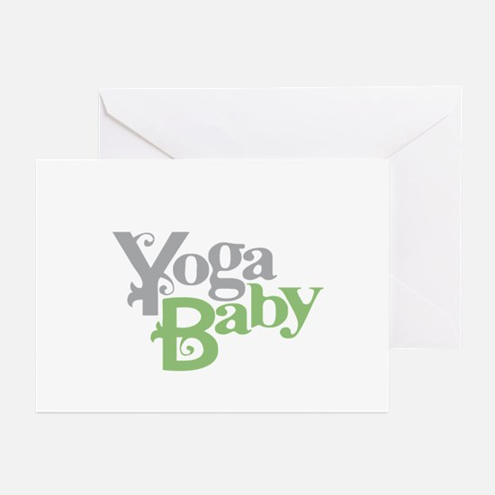 Yoga Baby Greeting Cards (Pk of 20)