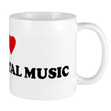 I Love HEAVY METAL MUSIC Mug
