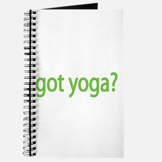 got yoga? Journal