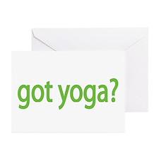 got yoga? Greeting Cards (Pk of 10)