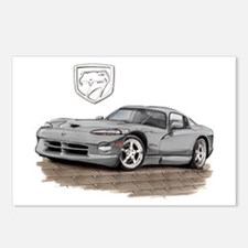 Viper Silver Car Postcards (Package of 8)