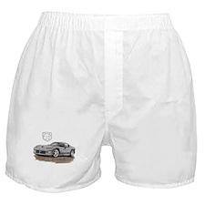 Viper Silver Car Boxer Shorts