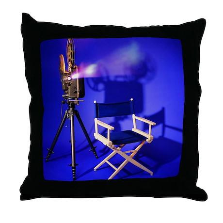 Director Chair Throw Pillow