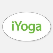 iYoga Oval Decal