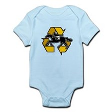 Recycled racehorse Infant Bodysuit