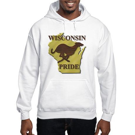 Greyhound Hooded Sweatshirt/WI PRIDE