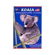 Sapphire KOALA 2007- Rectangle Magnet