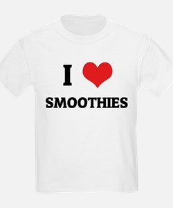I Love Smoothies Kids T-Shirt