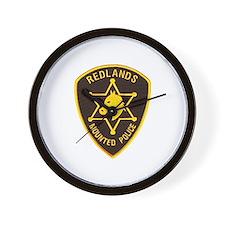 Redlands Mounted Posse Wall Clock