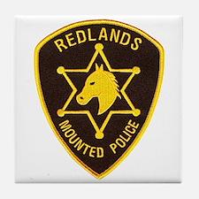 Redlands Mounted Posse Tile Coaster