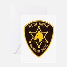 Redlands Mounted Posse Greeting Card