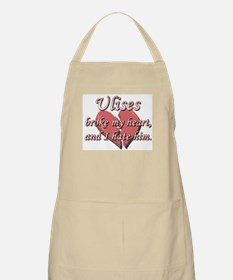 Ulises broke my heart and I hate him BBQ Apron