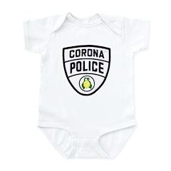 Corona Police Infant Bodysuit