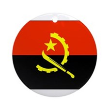 Angola Ornament (Round)