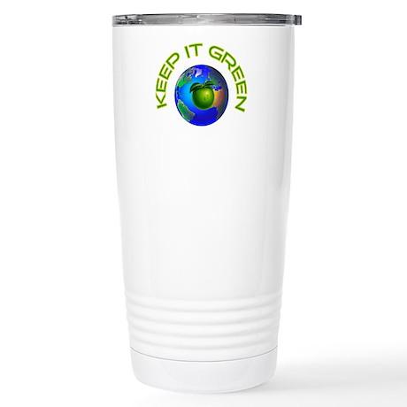 KEEP IT GREEN Stainless Steel Travel Mug