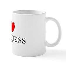 """I Love (Heart) Bluegrass"" Mug"