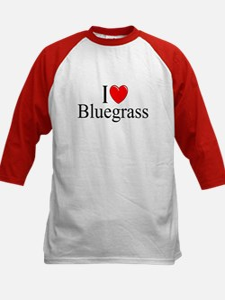"""""""I Love (Heart) Bluegrass"""" Tee"""