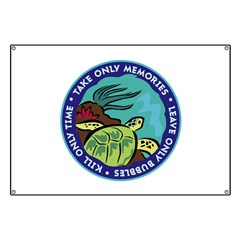 http://i3.cpcache.com/product/353505605/take_only_memories_turtle_banner.jpg?height=240&width=240