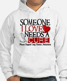 Needs A Cure LUNG CANCER Hoodie