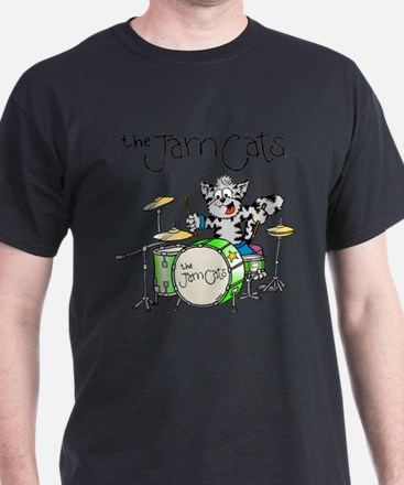 The Jam Cats 2 sided T-Shirt