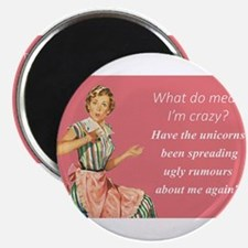 Crazy Retro Housewife Magnets