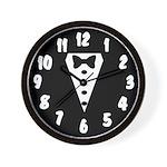 Team Groom Wall Clock