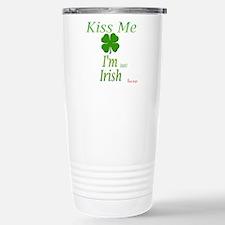 I'm NOT irish Stainless Steel Travel Mug