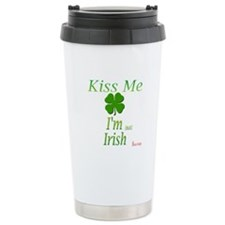 I'm NOT irish Travel Coffee Mug