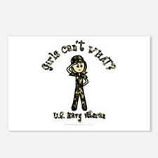 Light Navy Veteran Postcards (Package of 8)